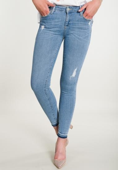 Spodnie jeansowe skinny z...