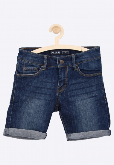 Bermudy jeansowe TIFFOSI -...