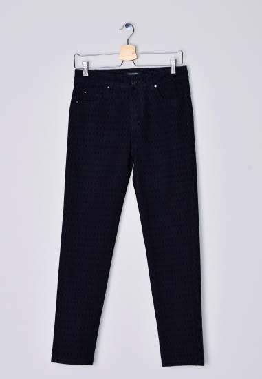 Wzorzyste spodnie damskie Chiara Dalba