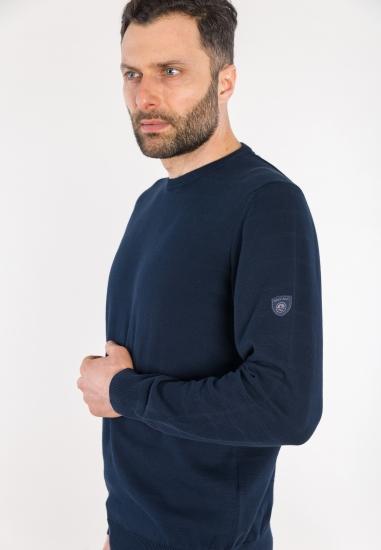 Sweter basic Navy Sail