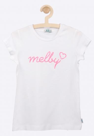 T- shirt z napisem MELBY