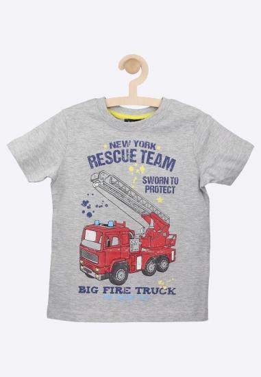 T-shirt z nadrukiem BLUE...