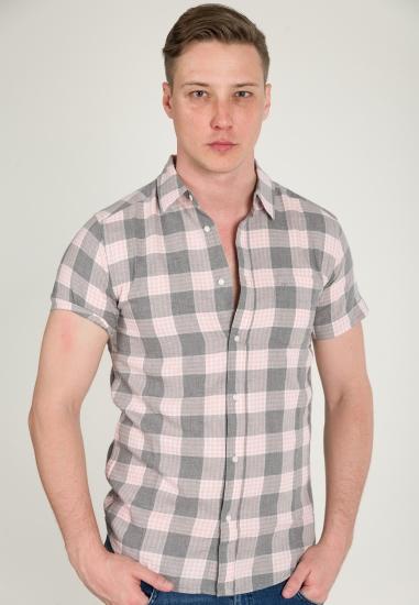 Koszula w kratkę WRANGLER -...