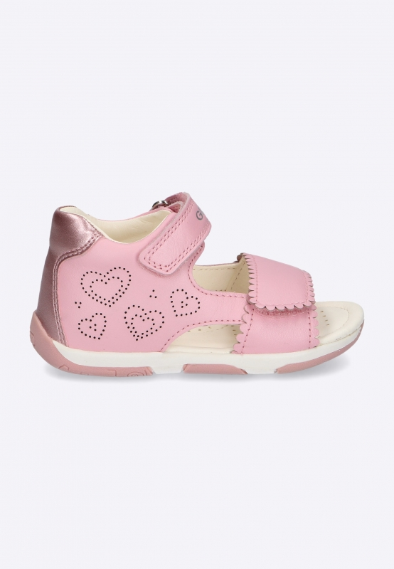 Sandały dziewczęce ze zdobieniem GEOX
