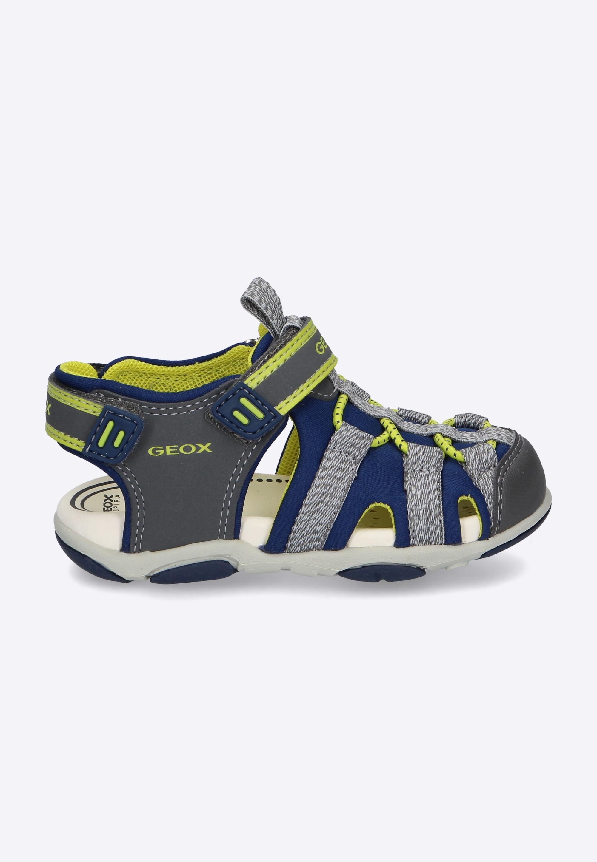 12bb6fe2f247c Kolorowe sandały chłopięce GEOX - Nico - Odzież i Obuwie