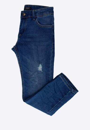 Spodnie jeansowe z przetarciami TIFFOSI
