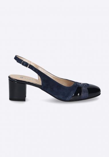 Lakierowane sandały CONFORT