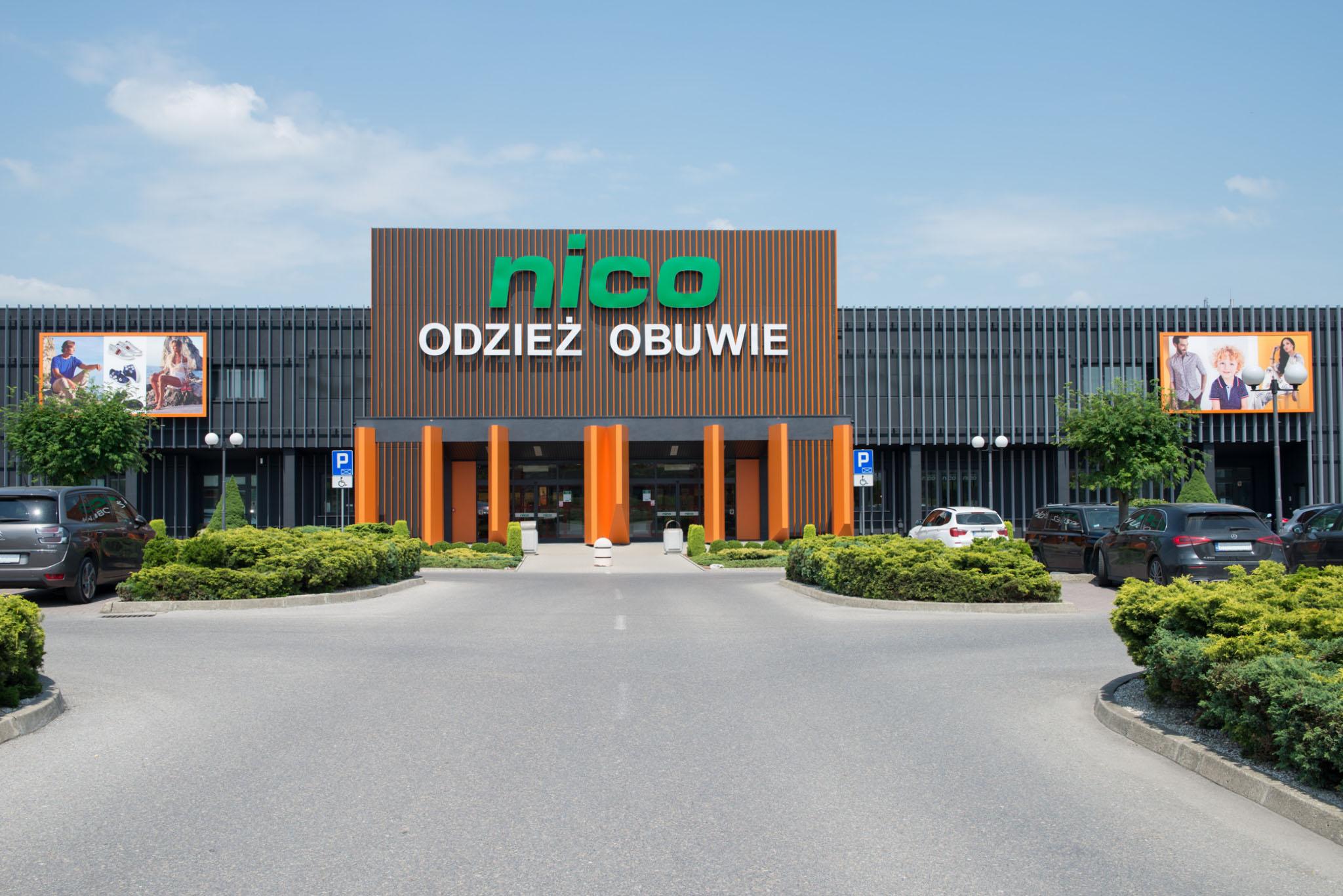 Salony sprzedaży Nico Odzież i Obuwie